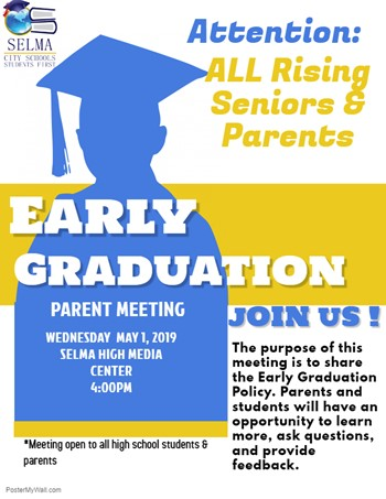 Early Graduation Student Parent Meeting