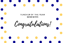Selma City Schools Teacher of the Year Nominees