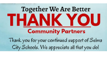 Community Partner Appreciation