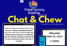 Virtual Parent Chat and Chew