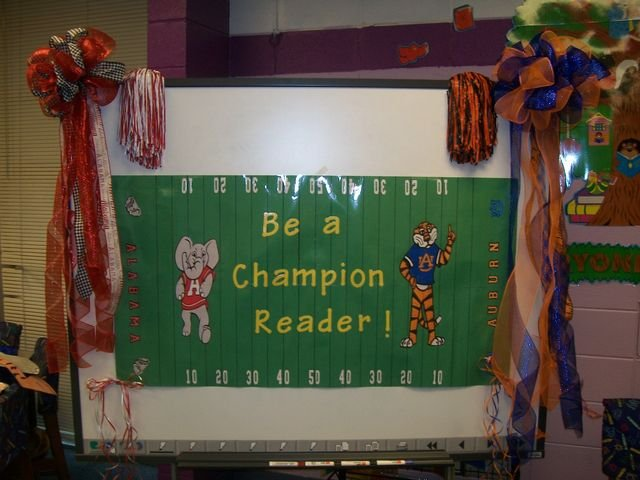 Be a Champion Reader Contest