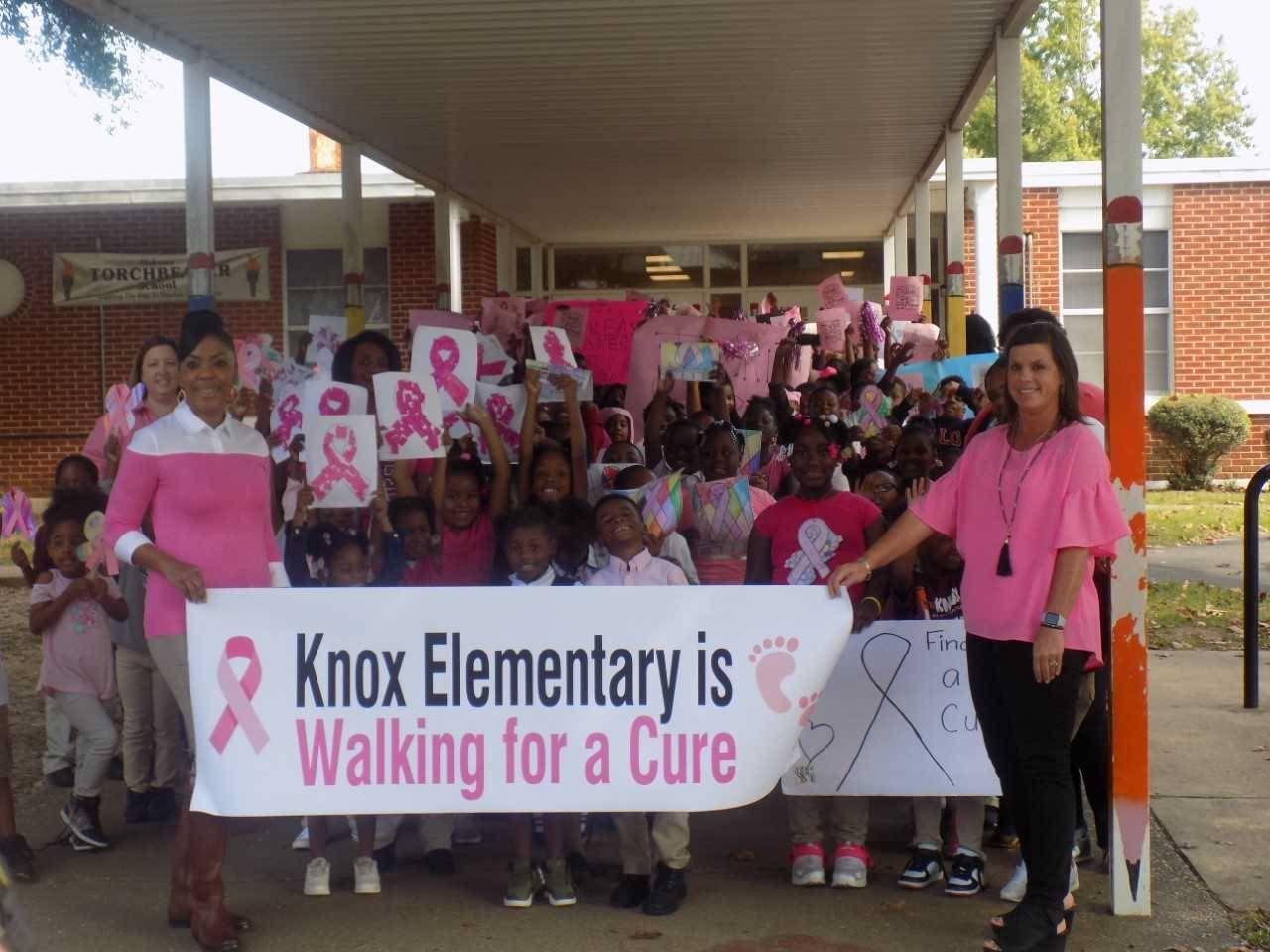 "Knox Going ""Pink"""