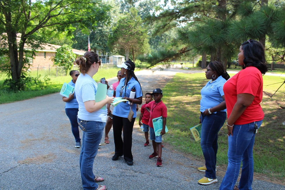Community Walk Through