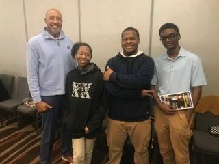 Selma High School scholars E-Sports team members and Coach Lane