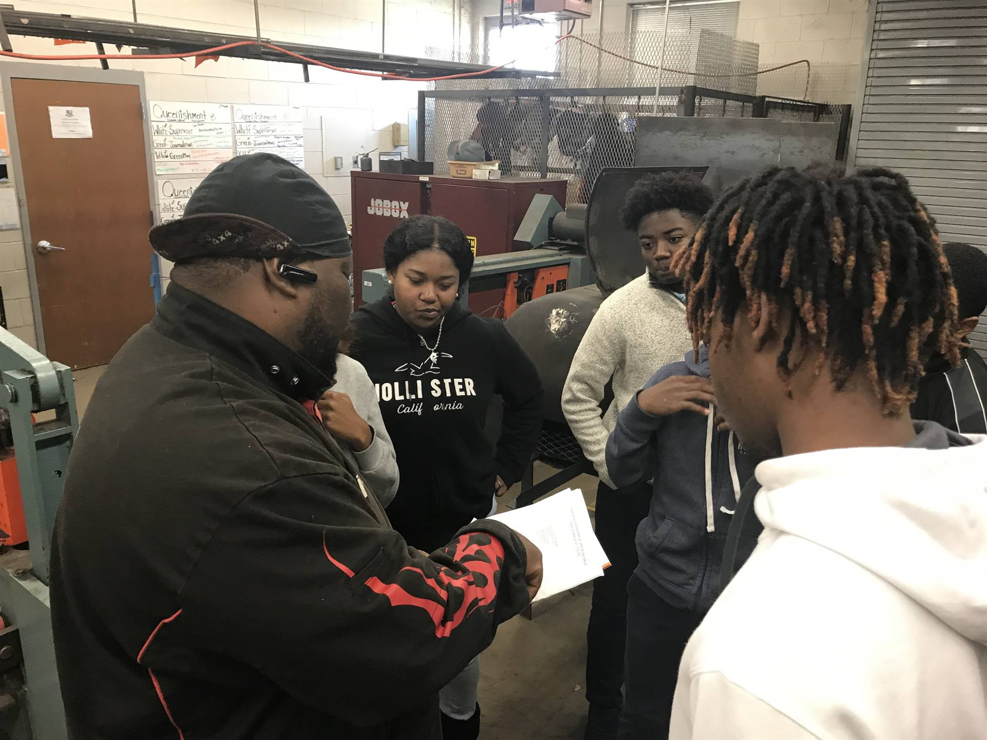 Selma High School welding scholars