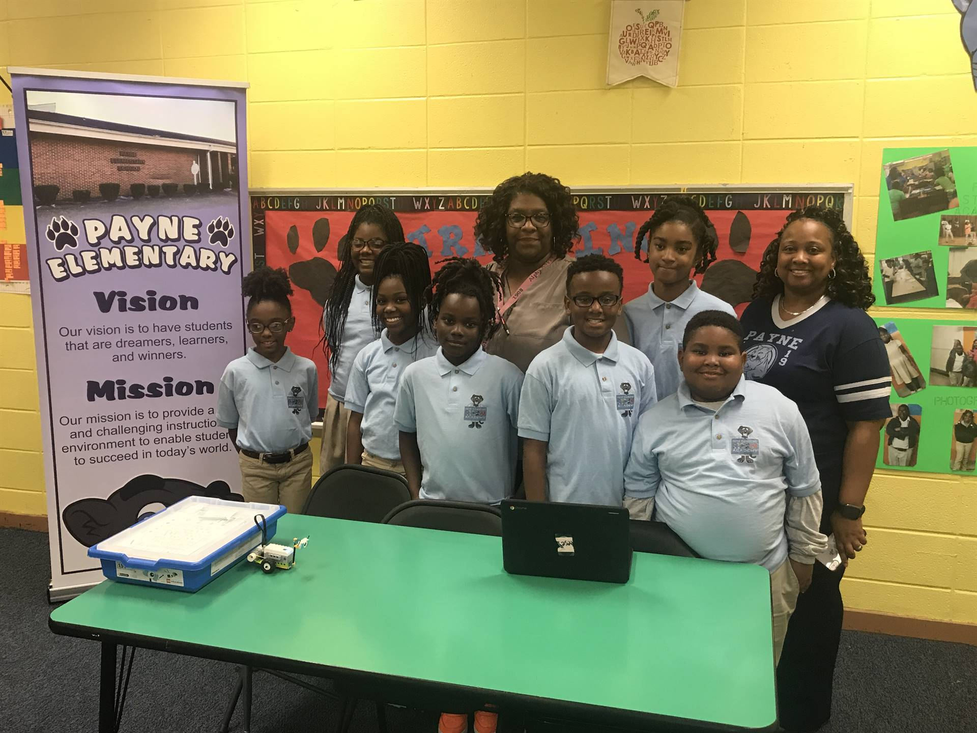Payne STEAM Academy Robotics Team!